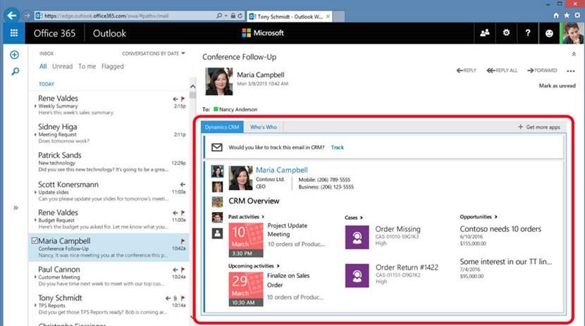 App for Outlook Web
